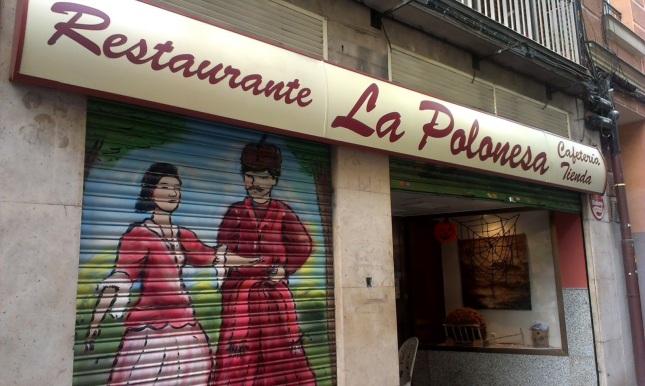 Resultado de imagen de la polonesa restaurante madrid imagenes