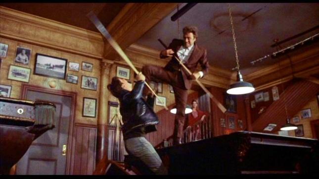 Resultado de imagen de Pools room fight coogan's bluff scenes